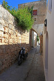 Lindos Streets and Passageways — Stock Photo