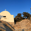 Monolithos Castle Church — Stock Photo