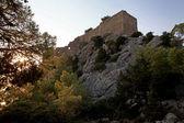 Monolithos kasteel — Stockfoto