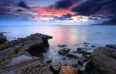 Baía de kimmeridge dorset — Foto Stock