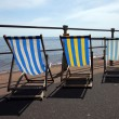 Deckchairs — Stock Photo #14733821