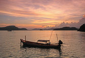 Thailand Sunset — Stock Photo