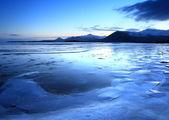 Frozen coast in Iceland — Stock Photo