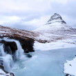 Grundarfjorour famous mountain iceland — Stock Photo