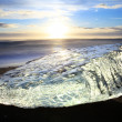 Iceburg Sunset — Stock Photo