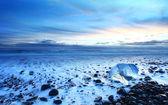 Iceland sunset — Stock Photo