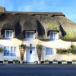 Thatched cottage in Lulworth village dorset england — Stock Photo