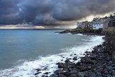 St tempestade de ives harbpr — Foto Stock