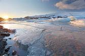 冰盖 — 图库照片
