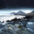 Stormy sea in south east iceland — Stock Photo #22937028