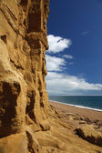 Playa de burton bradstock — Foto de Stock