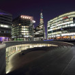 Thames Bank Modernism — Foto Stock