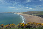 Woolacombe North Devon coast — Stock Photo