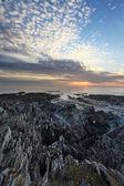 Sunset Woolacombe North Devon coast — Stock Photo