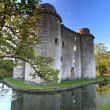 Nunney Castle Somerset — Stock Photo