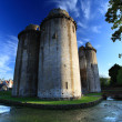 Stock Photo: Nunney Castle Somerset