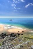 South Devon Coastline England — Stock Photo