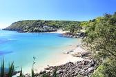 Salcombe Beach Devon England — Stock Photo