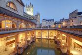 Roman baths at Avon England — Stock Photo