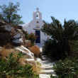 Ios in Greece classic church — Stock Photo #31817655