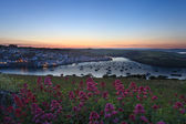 Salcombe Estuary Sunset — Stock Photo