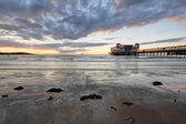Weston Super Mare, Somerset, famous pier — Stock Photo