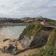 Stock Photo: Newquay Cornwall