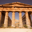 Stock Photo: Doric temple of Segesta