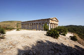 The Doric temple of Segesta — Stock Photo