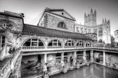 Old Roman Baths — Stock Photo