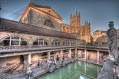 Old Roman Baths — Stock Photo