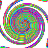 Rainbow vortex. — Stock Photo