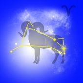 Zodiac Aries — Stock Photo