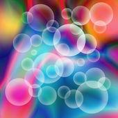 Trasparenti sfere 3d — Foto Stock