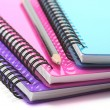 Notebooks and Pencil — Stock Photo