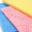 Multicolour Sponges — Stock Photo