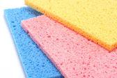 Multicolour Sponges — Stock Photo