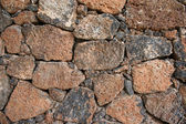 Volcanic Rock Wall — Stock Photo