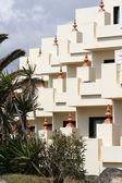 Rekreační byt balkony — Stock fotografie
