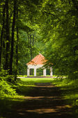 Summer house near Milotice castle, Czech republic — Stock Photo