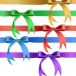Decorative bow in various colors — Stock Vector #30975667