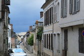 Old city Joigny, France — Stock Photo