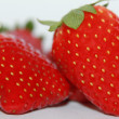 Stock Photo: Close up of fresh strawberries