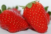 Close up of fresh strawberries — Stock Photo