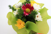 Spring bouquet flower arrangement — Stock Photo