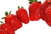 Close up of fresh strawberries — Stock Photo