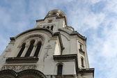 Alexander Nevsky Cathedral in Sofia, Bulgaria — Stock Photo