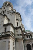 Alexander Nevsky Cathedral in Sofia, Bulgaria — Stock Photo