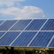 Photovoltaic system - renewable energy — Stock Photo