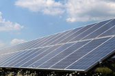 Photovoltaic system - renewable energy — Foto Stock